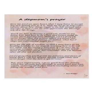 Stepmother s prayer postcard