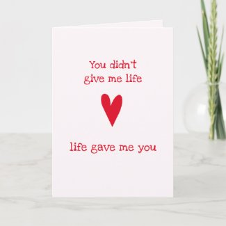 Stepmother 'Thank You' | Red Heart Card