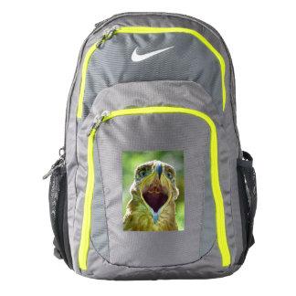 Steppe Eagle Head 001 01.1, screaming Backpack