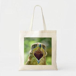 Steppe Eagle Head 001 2.1.2 Budget Tote Bag