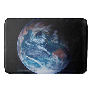 STEPPING ON PLANET EARTH #3 BATH MAT