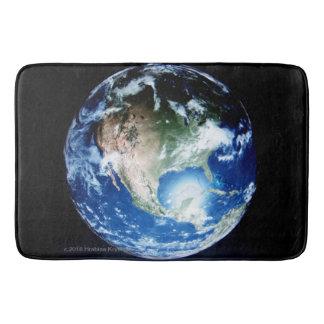 STEPPING ON PLANET EARTH #5 BATH MAT