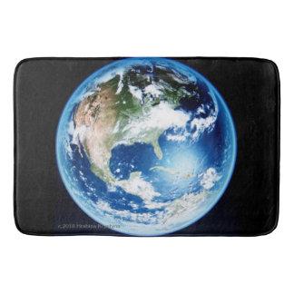 STEPPING ON PLANET EARTH #6 BATH MAT