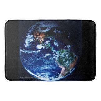 STEPPING ON PLANET EARTH #7 BATH MAT