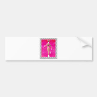 Stepping out Fashion is everything Bumper Sticker