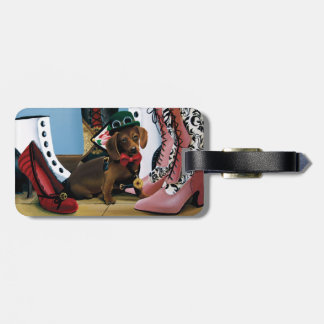Stepping Out Luggage Tag