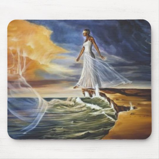 Stepping Out On Faith (for women) Mouse Mat