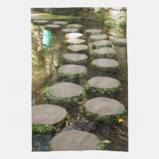 Stepping Stones Tea Towel