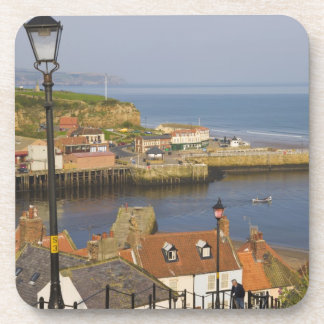 Steps leading down to the harbour, Whitby, North Coaster