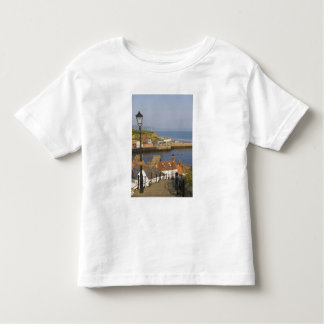 Steps leading down to the harbour, Whitby, North Toddler T-Shirt