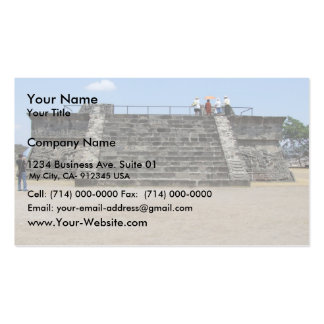 Steps Of Old Fort Business Card Template