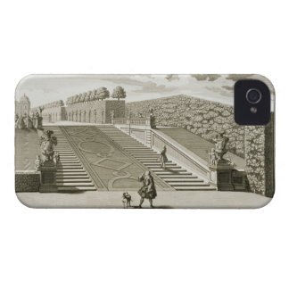 Steps to the garden terrace, Belvedere Palace, Vie iPhone 4 Cases