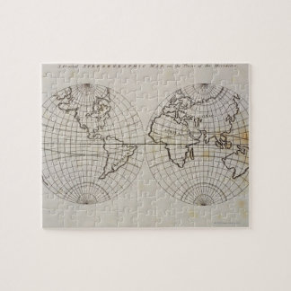 Stereographic Map Jigsaw Puzzle