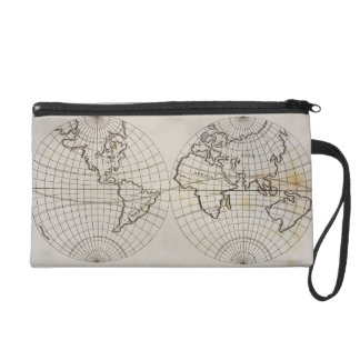 Stereographic Map Wristlet