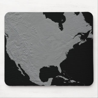 Stereoscopic view of North America 2 Mouse Mat