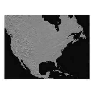 Stereoscopic view of North America Photo Print