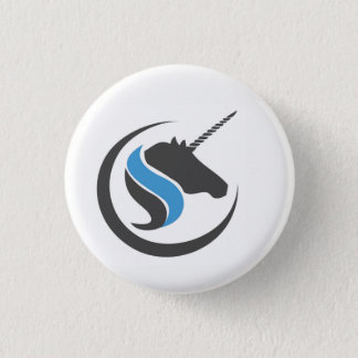 Sterling and Stone Unicorn Button