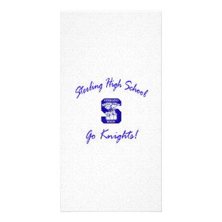 Sterling High Go Knights Logo I Photo Card