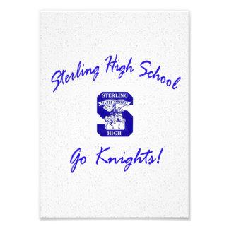 Sterling High Go Knights Logo I Photo Print