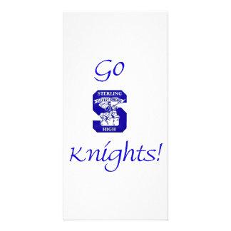Sterling High Go Knights Logo II Photo Card