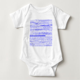 Sterling High School Text Design I Baby Bodysuit