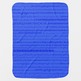 Sterling High School Text III Baby Blanket