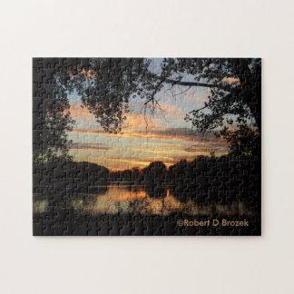 Sterling Kansas Golden Sunset Puzzle