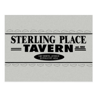 Sterling Place Tavern Postcard