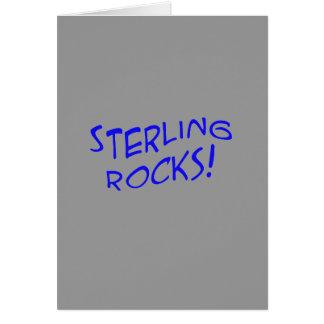 Sterling Rocks! Greeting Card