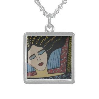 sterling silver designer pendant