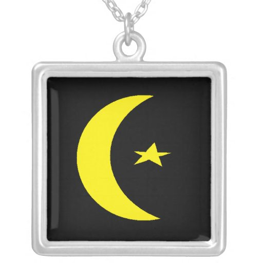 sterling silver islamic symbolism necklace