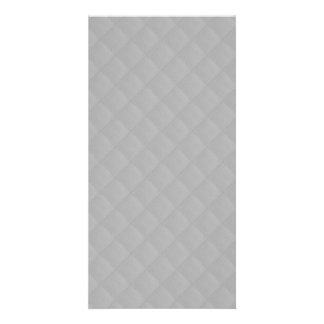 Sterling Silver Quilted Pattern Photo Card Template