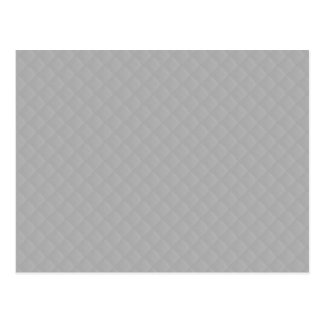 Sterling Silver Quilted Pattern Postcard