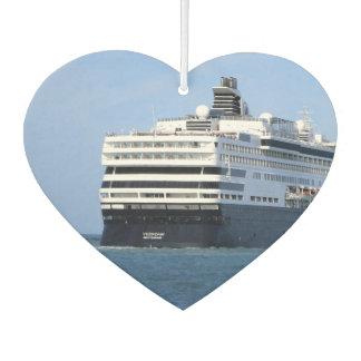 Stern and Starboard Cruising Away Heart Shaped Car Air Freshener