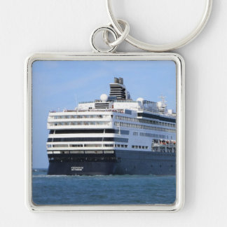 Stern and Starboard Cruising Away Photo Key Ring