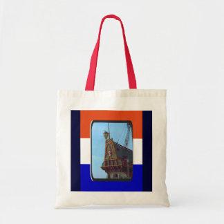 Stern of VOC Batavia; Lelystad, Holland Tote Bag