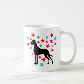 Sternenherz Dogge Classic White Coffee Mug