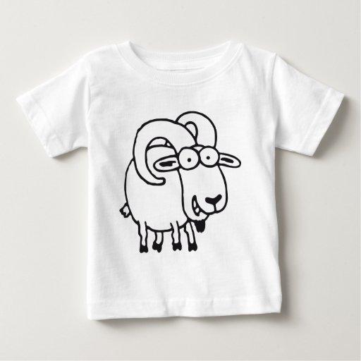 Sternzeichen Widder Baby T-Shirt