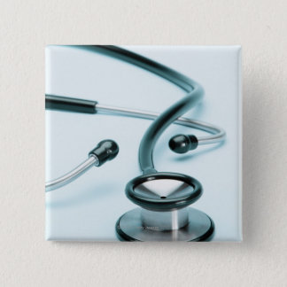 Stethoscope 15 Cm Square Badge