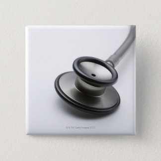 Stethoscope 3 15 cm square badge