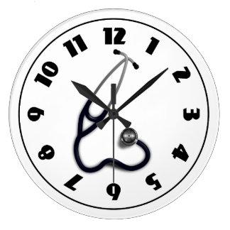 Stethoscope Clock