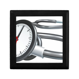 Stethoscope Clock Concept Gift Box