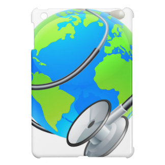 Stethoscope World Health Day Earth Globe Concept iPad Mini Cases
