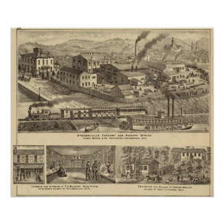 Steubenville Foundry and Machine Works Poster