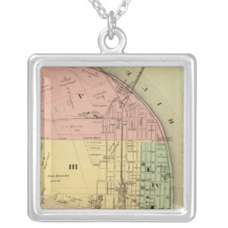 Steubenville, Ohio 2 Silver Plated Necklace