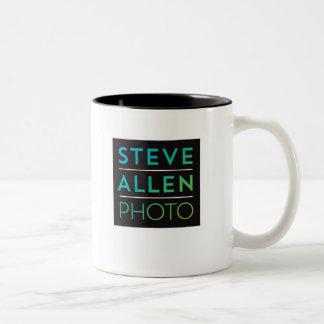 Steve Allen Photo 11 oz Two-Tone Mug