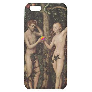 Steve and Eve - by Lucas Cranach iPhone 5C Case