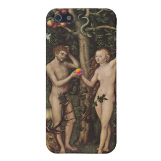 Steve and Eve - by Lucas Cranach iPhone 5 Case