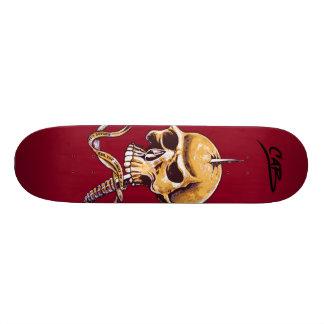 Steve Caballero Skull Skateboard