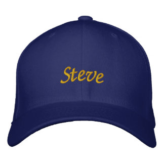 Steve Embroidered Hat